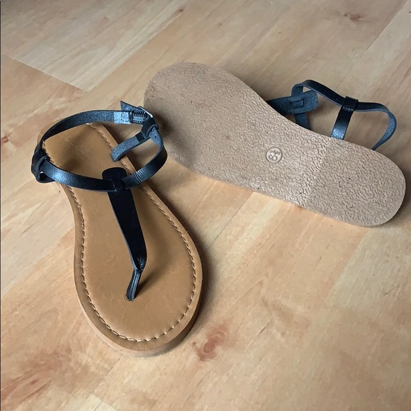 Black Strappy Sandals Target | Poshmark